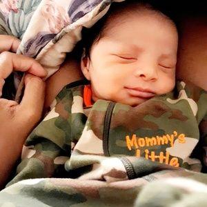 Garanimals One Pieces - Mommy's Little Man Camouflage Footsie